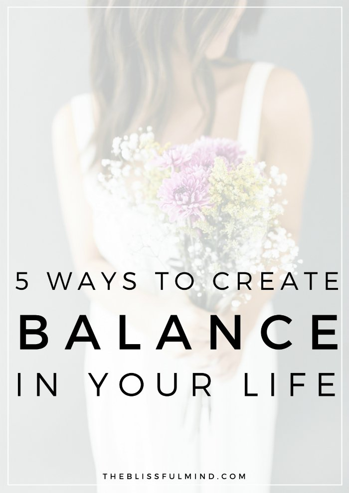 We all want to create a little more balance in our lives, but sometimes it can feel totally out of reach. Here are 5 underlying reasons you might be struggling to find balance in life (and how you can overcome them)!