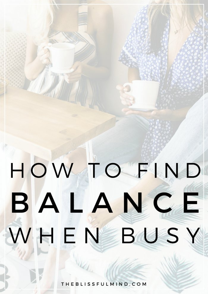 We all know life gets busy, but it's important to create balance between work, family, relationships, and self-care. The tricky part is juggling your time, energy, and attention between them all without burning out. If you want more balance in your life, here are 6 tips to help you find balance when you're busy!