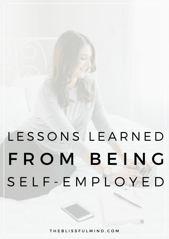 Do you dream of being your own boss? Here are the top tips and lessons I learned during my first year of self-employment!