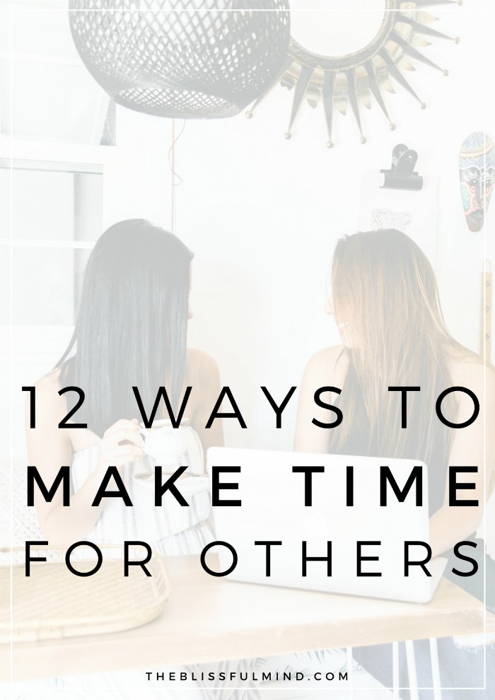 If you want to spend a little more quality time with loved ones, check out this post for 12 ideas to help you make time for those who matter most to you.