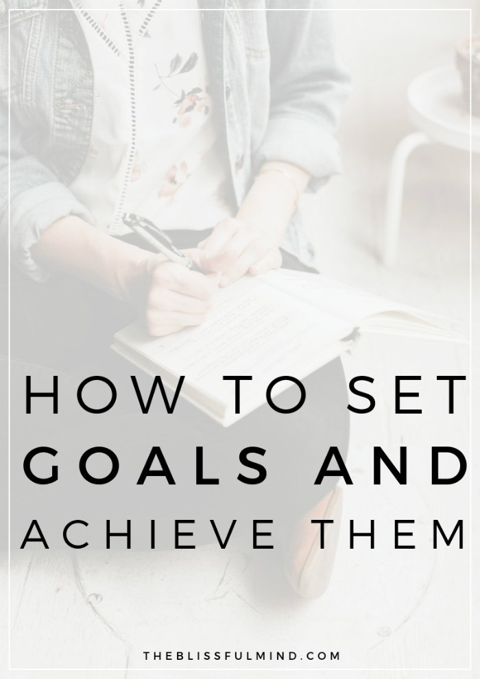 Do you struggle to set meaningful goals you can stick to? Here's a simple method for setting goals that you can actually achieve.