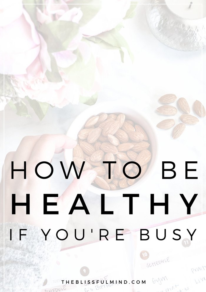When you have a busy schedule, it can be hard to fit everything into your day. Here's how I'm making time for healthy habits, self-care, and my to-do list.