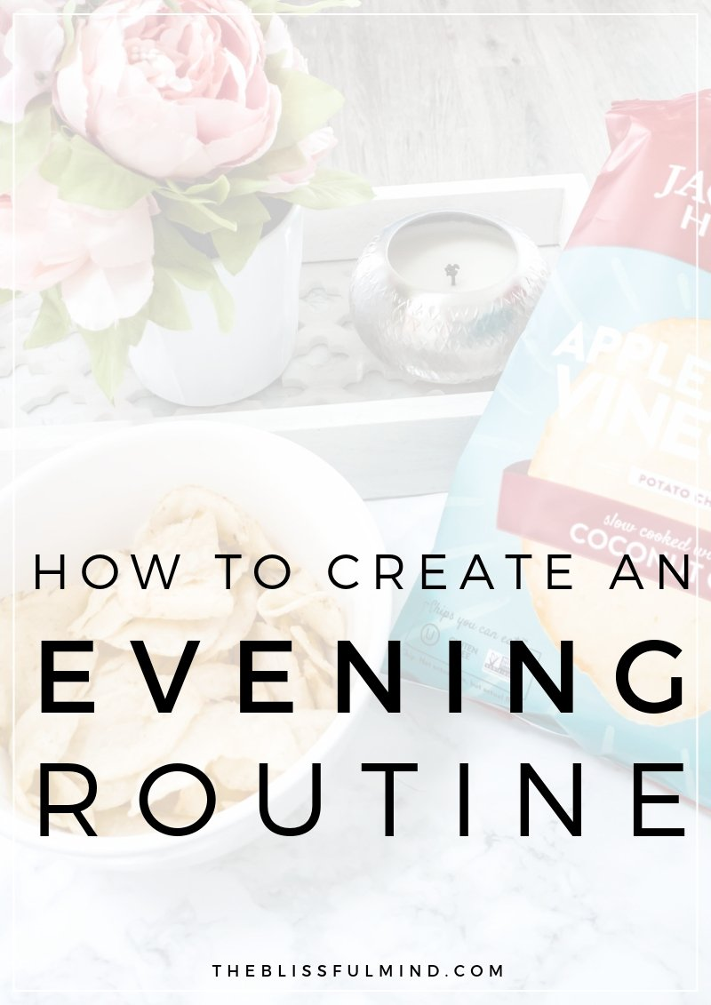 Struggling to stick to a consistent evening routine? Here's how to create a simple evening routine that helps you make healthy choices at the end of the day!
