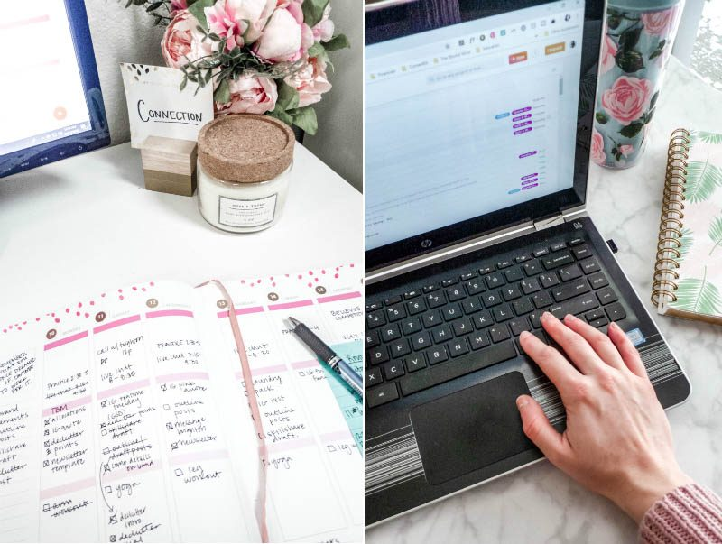 Planning your month is a game changer for improving productivity and reducing stress levels. Here's how to plan your month for success so you can get your schedule organized ahead of time!