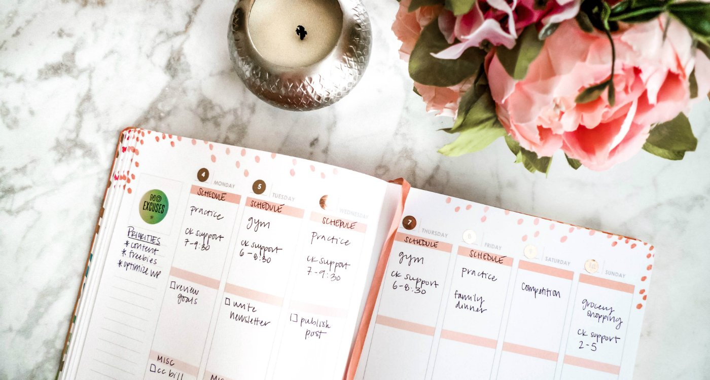 Want to be more productive and efficient with your time? Here are five steps to help you plan out your week ahead of time.