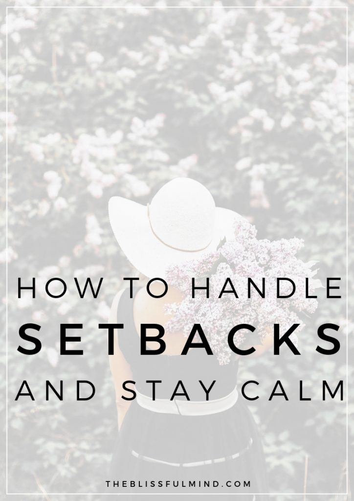 Do you tend to freak out when things don't go to plan? Here's how to stay calm when you're stressed so you can take control of the situation.