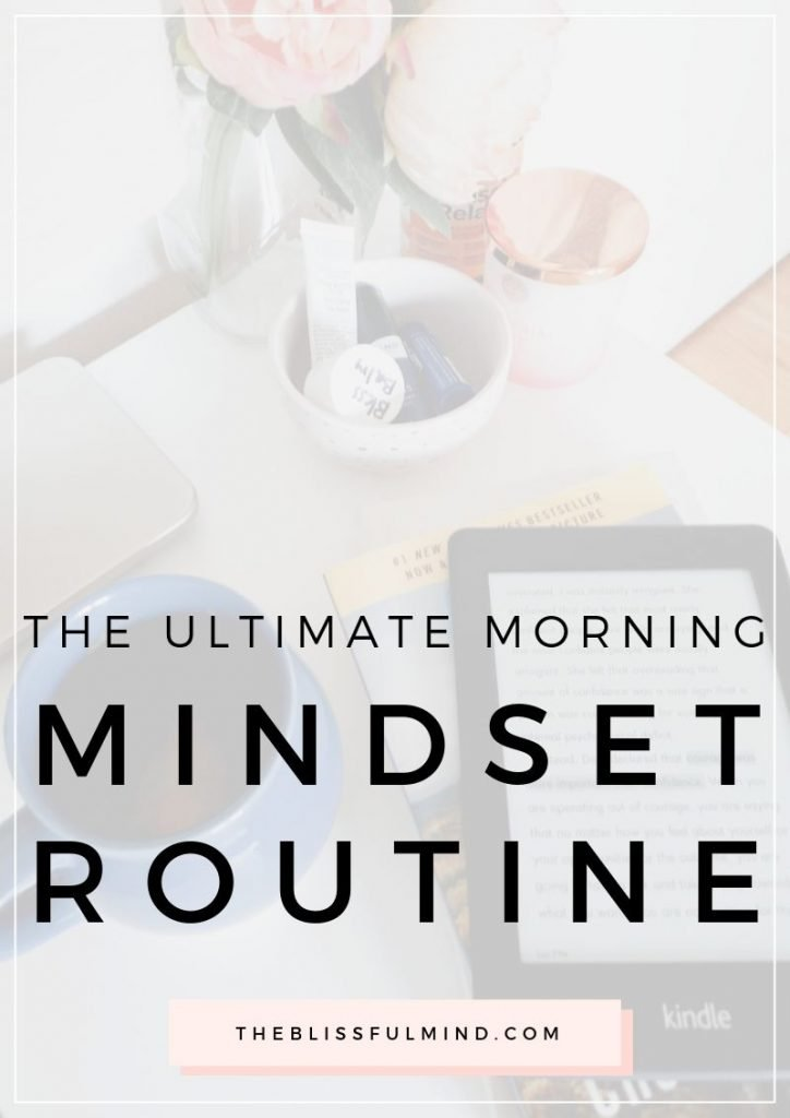 Keep yourself motivated and focused with this simple morning mindset routine.